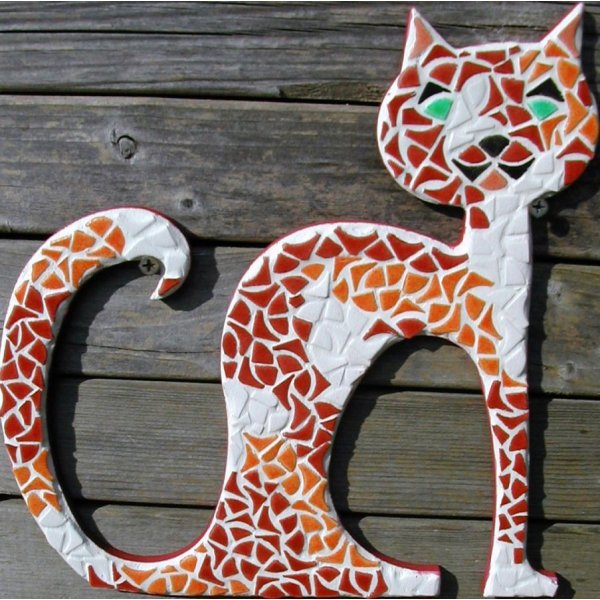 "Diy Kit en mosaÏque ""Chat Anonymus"""
