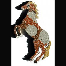 Diy Kit mosaïque Cheval Mustang